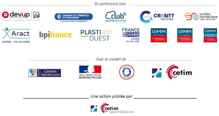 Perform'Industrie Centre Val de Loire - Partenaires